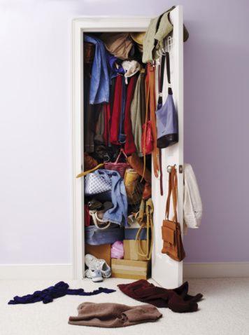 Garderobetjek hos stylisten